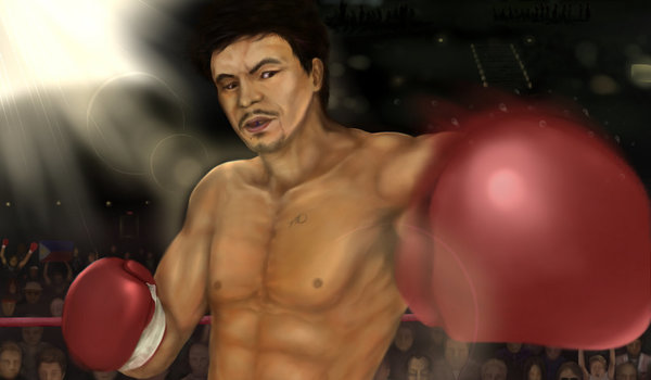 Manny pacquiao the champ by aidal d4rgdjy